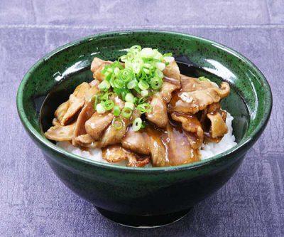 三元豚の生姜焼き丼
